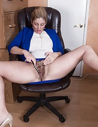 Alicia Silver beautiful hairy milf nude